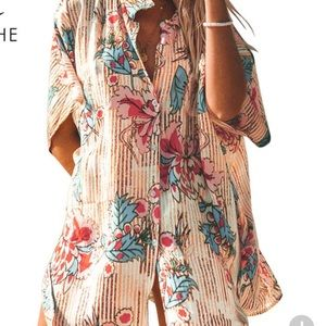 NWT CUPSHE Swim Cover UP - one size